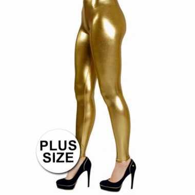 Big size mailot goud