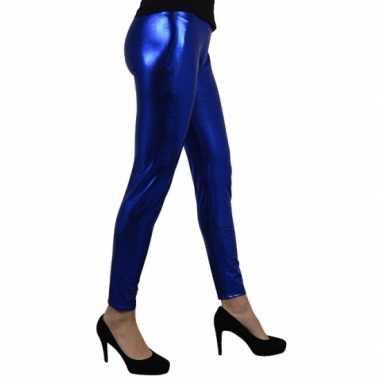 Blauw metallic mailot