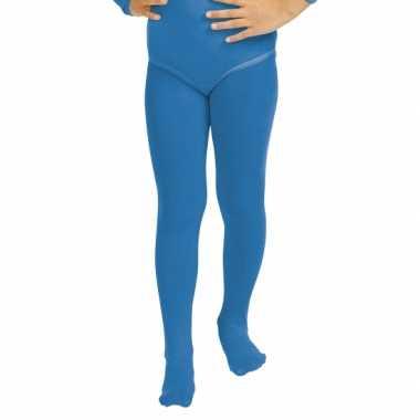 Blauwe meisjes maillot
