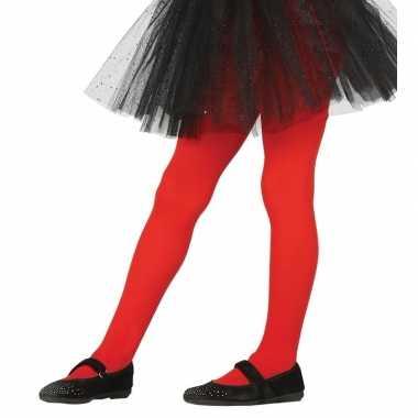 Meisjes maillot rood