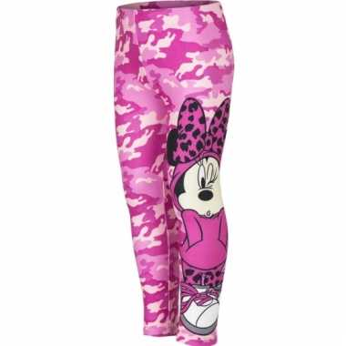 Minnie mouse kindermailot roze
