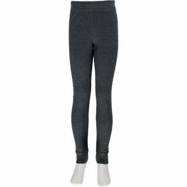 Thermo broek ondergoed voor kinderen grijs