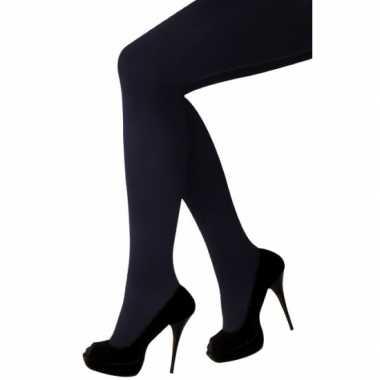 Zwarte maillot voor dames met gulp